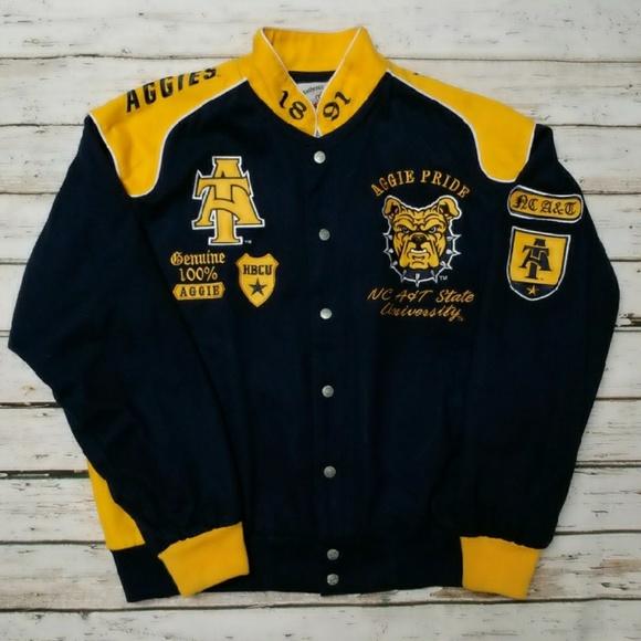 534dcd94e Big Boy Gear Jackets & Coats | Nc At University Aggies Varsity Coat ...